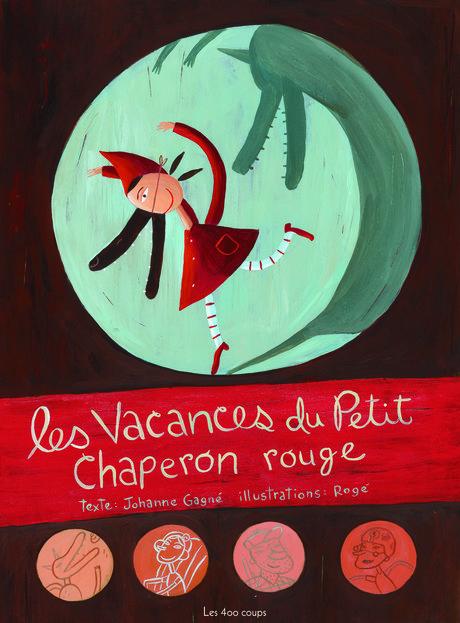 Couverture du livre Vacances du Petit Chaperon rouge