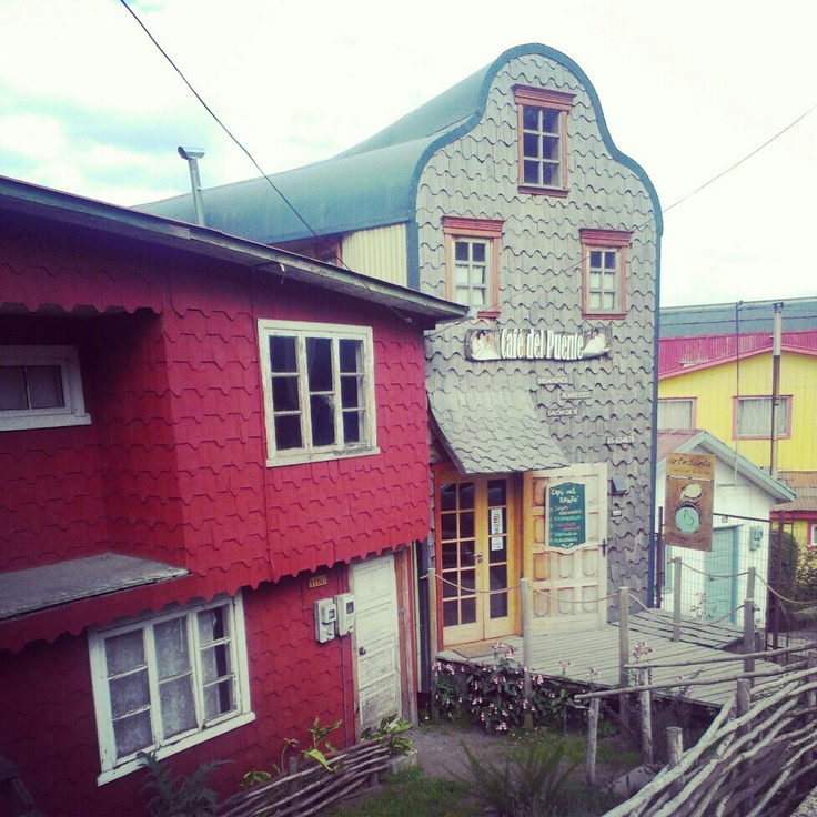 Cute Café in Castro, Chiloe