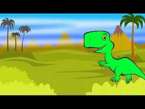 Il ballo del dinosauro - Giochi nella foresta - Canzoni per bambini di Mela Music - YouTube