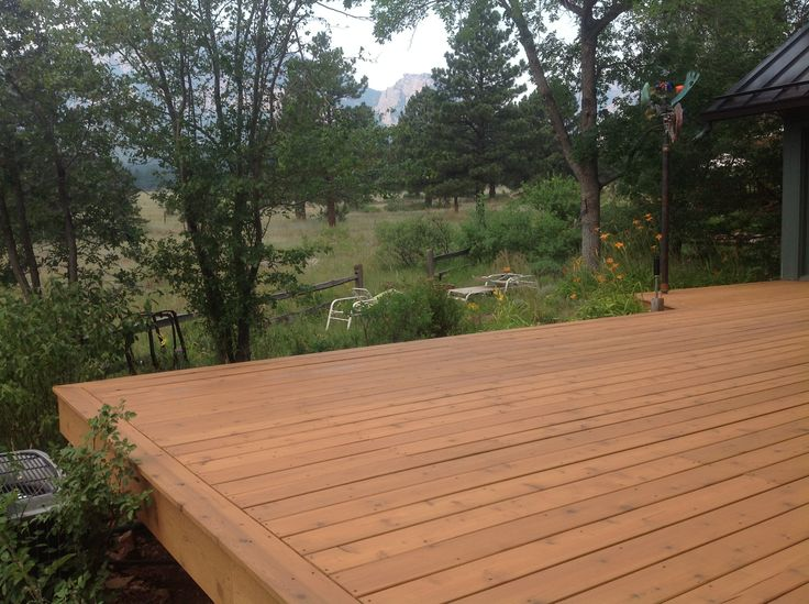 Cabot Deck Stain In Semi Transparent Ocher Best Deck