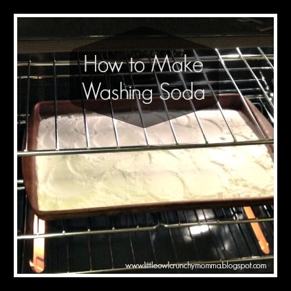 Several months ago I was desperately searching for a source of washing soda to attempt a recipe for homemade laundry detergent. To no avai...