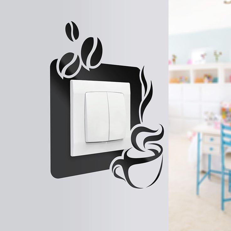 Naklejka pod kontakt - ciekawe rozwiązanie na zabrudzenia - genialny pomysł na aranżację restauracji, kuchni czy baru. Dostępna w różnych kolorach.