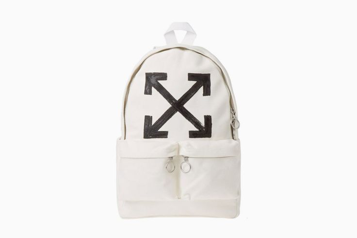 Off-White brushed arrows backpack