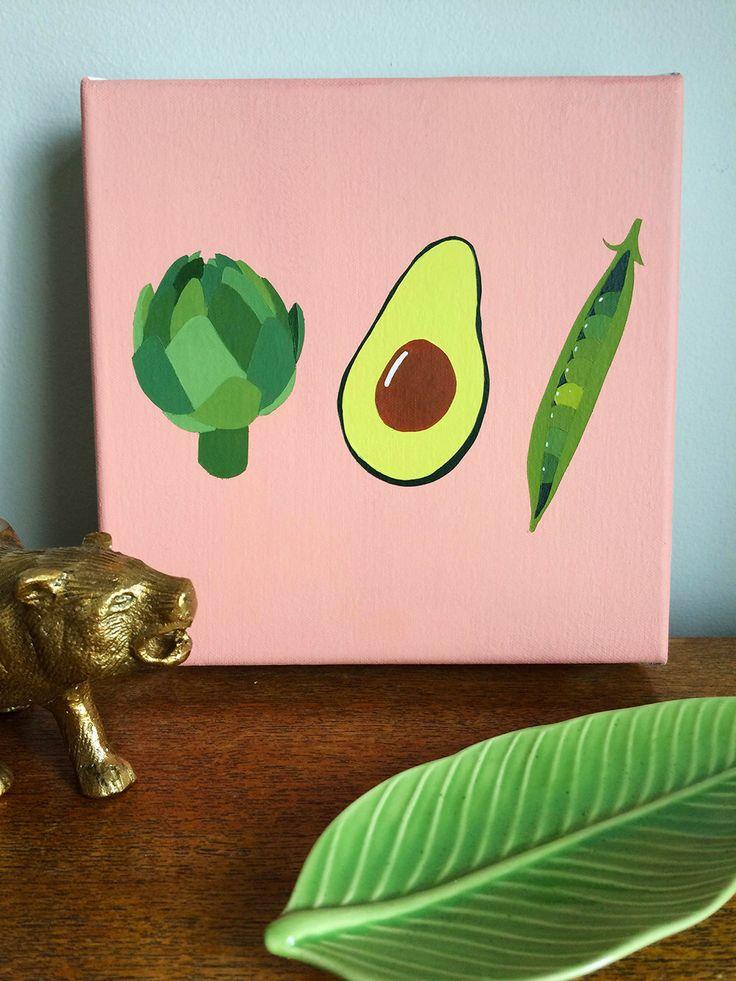 Die besten 25+ Küche Leinwand Kunst Ideen auf Pinterest Malerei - küchenbilder auf leinwand
