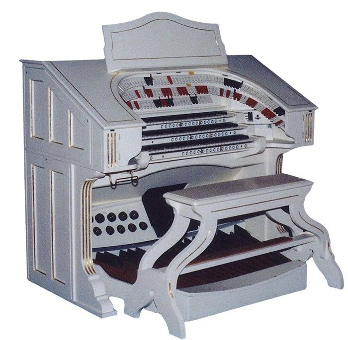 61841. The compton organ that was installed in the Malvern Town Hall in 1992.
