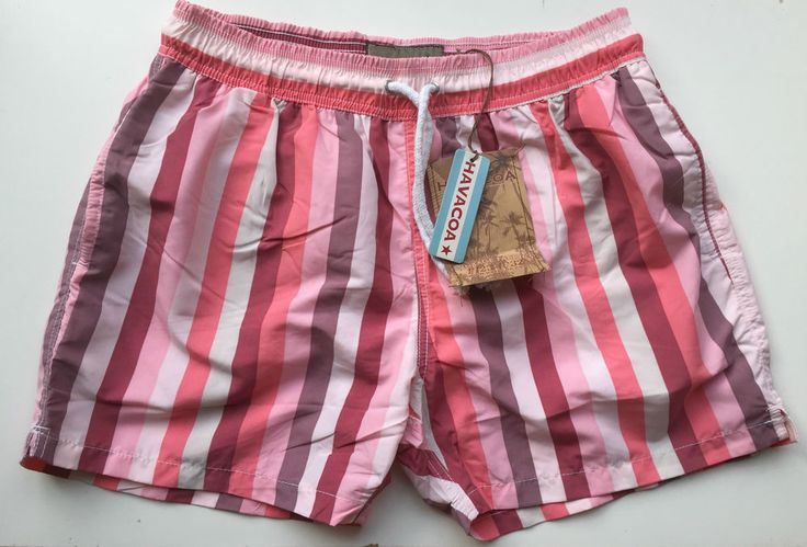 Mens Havacoa Swim Shorts Surf Shorts  Authentic New Medium M Pink ,   RRP£89