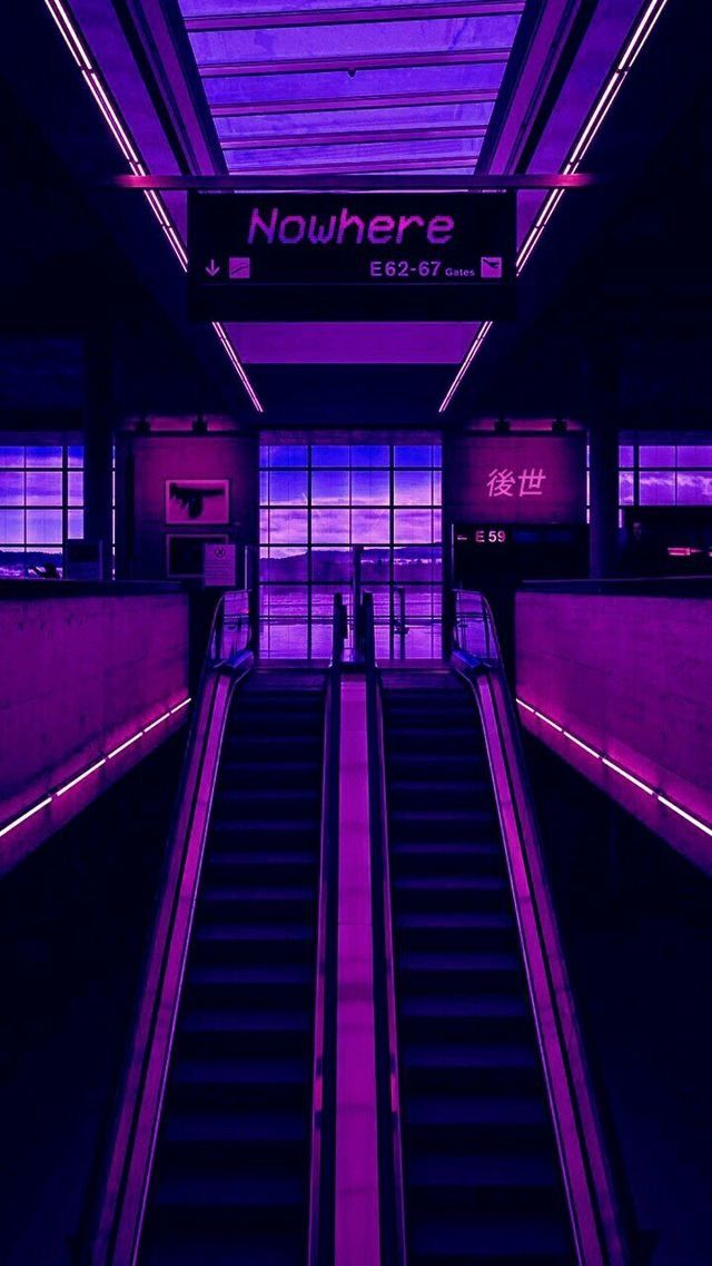 Pin By Tara Hislop On Vaporwave Aesthetic Violet Aesthetic Purple Aesthetic Neon Aesthetic