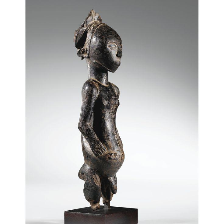 Lot 18 | Sotheby's LOT SOLD. 396,102 GBP STATUE D'ANCÊTRE, HEMBA SEPTENTRIONAUX, RÉPUBLIQUE DÉMOCRATIQUE DU CONGO haut. 64,5 cm 25 1/2 in