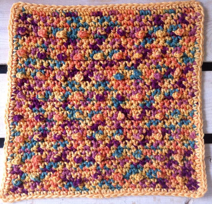 Nubby Dishcloth Creative Stitches Pinterest