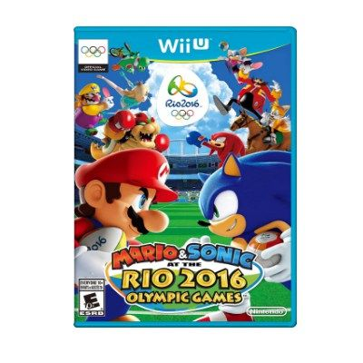 Mario & Sonic at the Rio 2016 Olympic Games Featuring events like Soccer, Rugby Sevens, Beach Volleyball, and more!