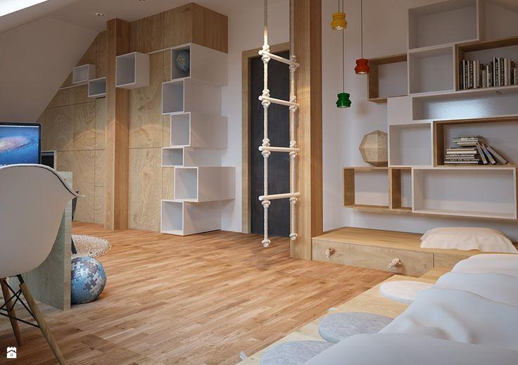 Pokój dziecka - Styl Nowoczesny - COI Pracownia Architektury Wnętrz