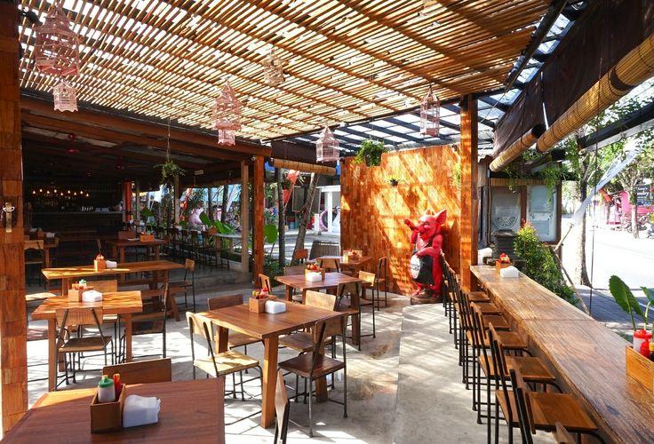 New seating #rustic #decor #restaurant
