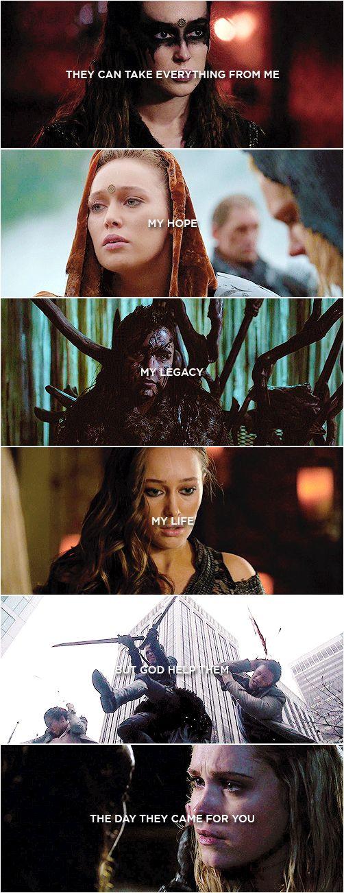 Commander Lexa || Heda Leksa || The 100 || Clexa || Commander Lexa and Clarke Griffin || Alycia Debnam-Carey and Eliza Jane Taylor