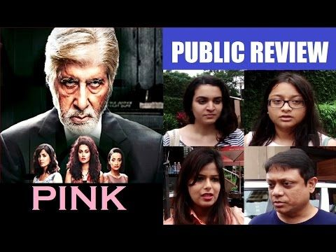 Public Review of the movie PINK | Amitabh Bachchan, Taapsee Pannu, Angad Bedi.  #pink #review #publicreview #amitabhbachchan #tapseepannu #angadbedi #gossips #bollywoodgossips #bollywood #bollywoodnews #bollywoodnewsvilla