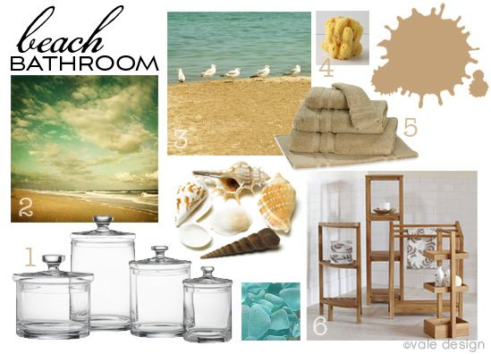 15 Beach Themed Bathroom Design Ideas: 261 Best Beach Bathroom Ideas Images On Pinterest