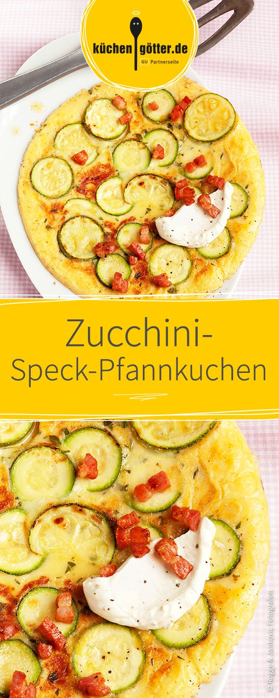 zucchini speck pfannkuchen rezept zucchini rustikal. Black Bedroom Furniture Sets. Home Design Ideas