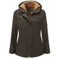 Barbour Ladies' Winter Force Parka Jacket - Olive LWX0066OL71 - Ladies' Jackets and Coats - WOMEN | Country Attire