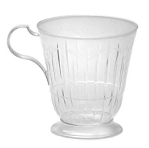 Clear Plastic Coffee Cups | 10ct