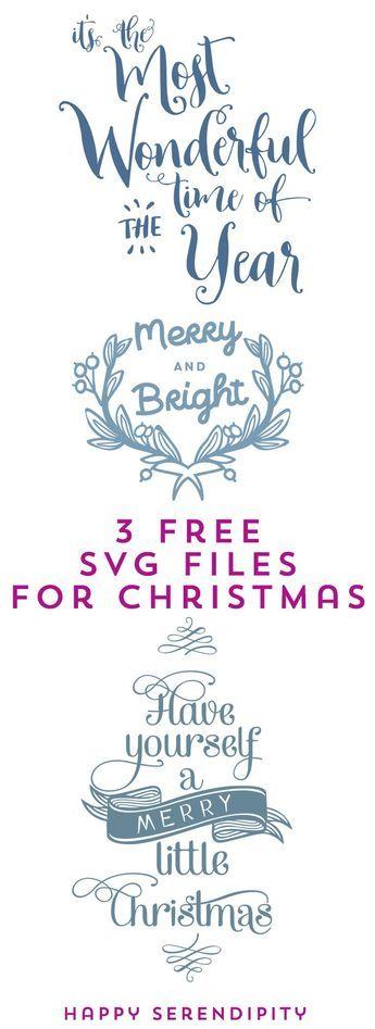 kostenlose plotterdateien für weihnachten von happy serendipity design / free svg files from happy serendipity design