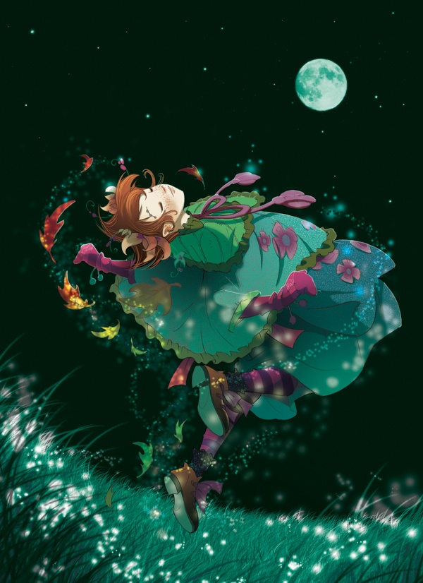 Fairy Oak-Lavender Periwinkle: Daughter of the Night | #ElisabettaGnone #libri #books #romanzo #novel #art #drawing #picture #sketch #draw #artist #illustration #pencil #reading #fable #fiaba