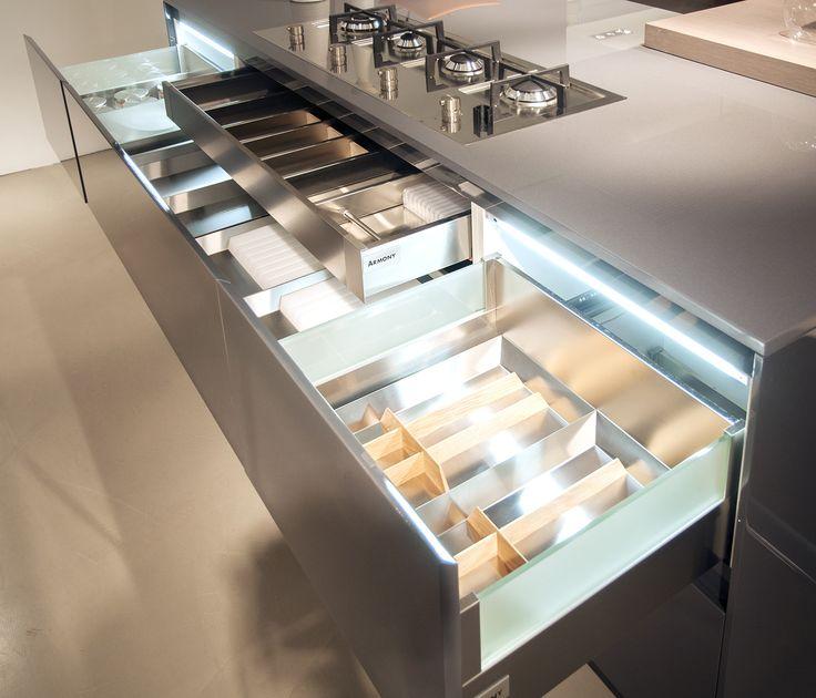 Armony - Italian kitchen design. www.armonycucine.it DETAIL