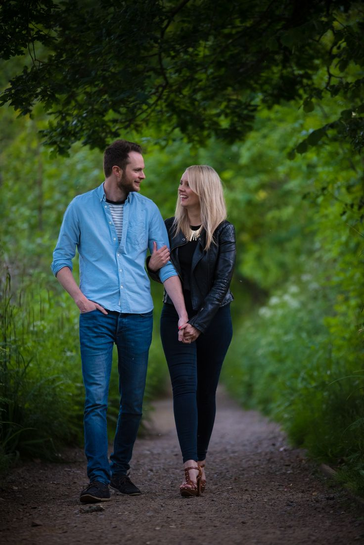Richard & Faye - Engagement shoot FleetHampshire