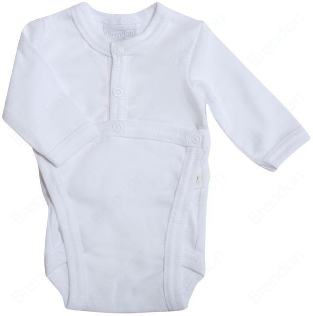 Brendon bodysuit BK/A White