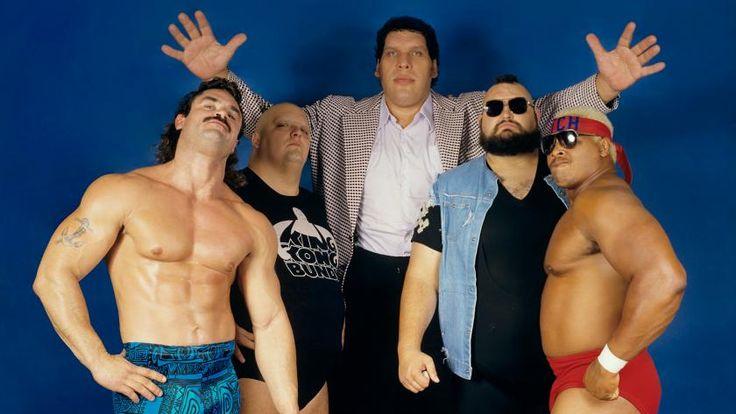 "1987: ""Ravishing"" Rick Rude, King Kong Bundy, Andre the Giant, One Man Gang and ""The Natural"" Butch Reed"