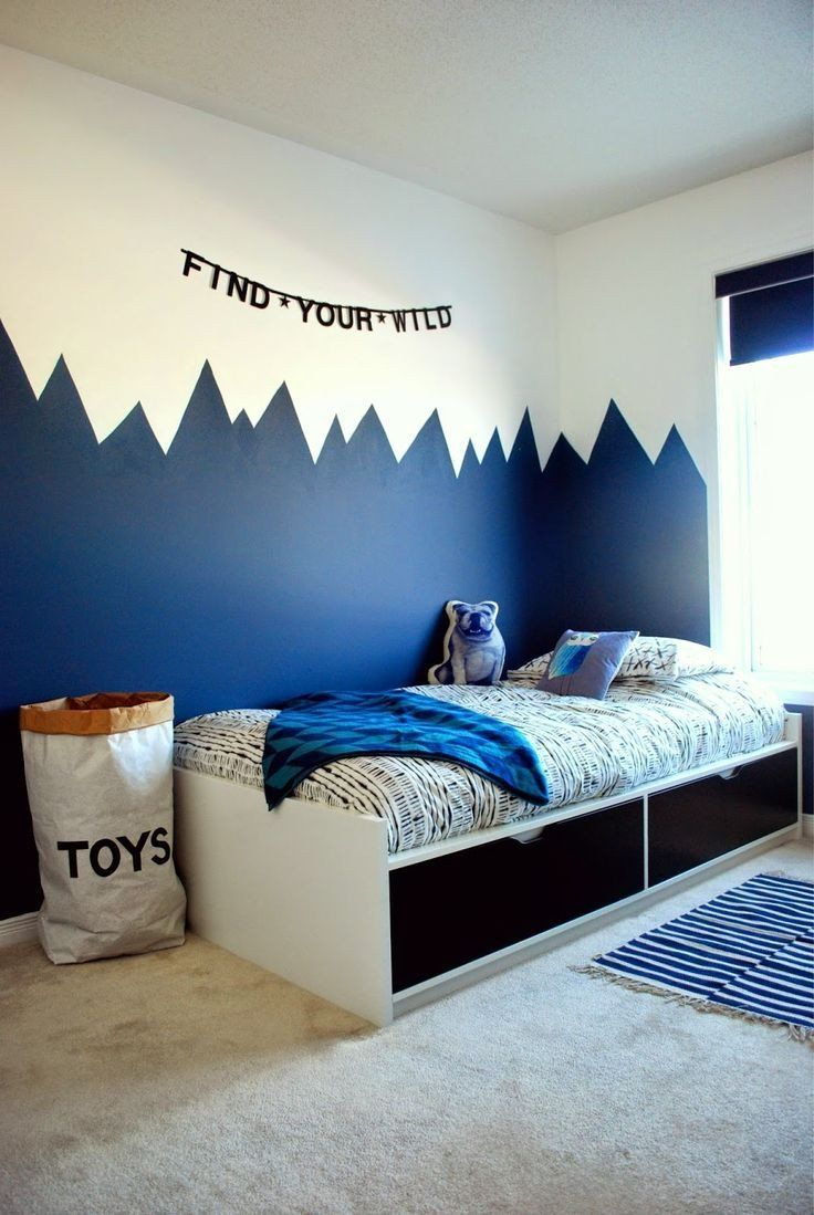 Ideas For Painting Bedrooms 20 Awesome Boys Bedroom Ideas With Simple Tips To Make Them In 2020 Boy Room Paint Boys Bedrooms Cool Bedrooms For Boys