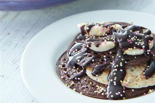 Chocolate pikelets recipe