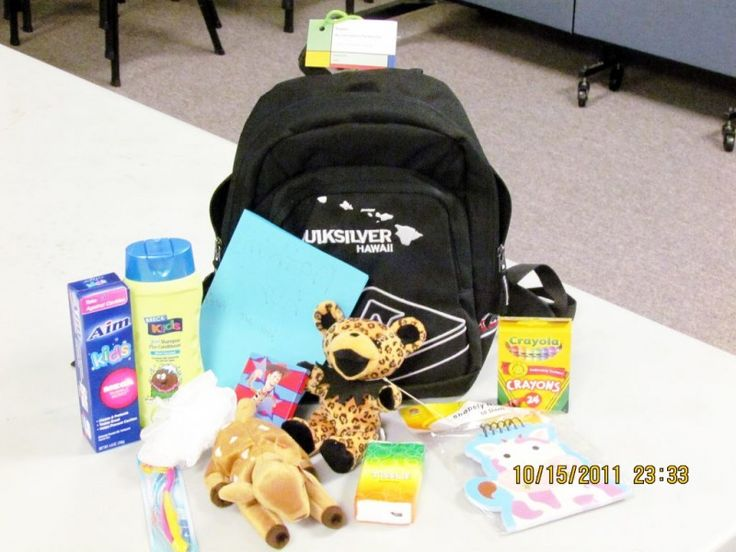 Social Services Worker Dreams Up Adventure Bags for Foster
