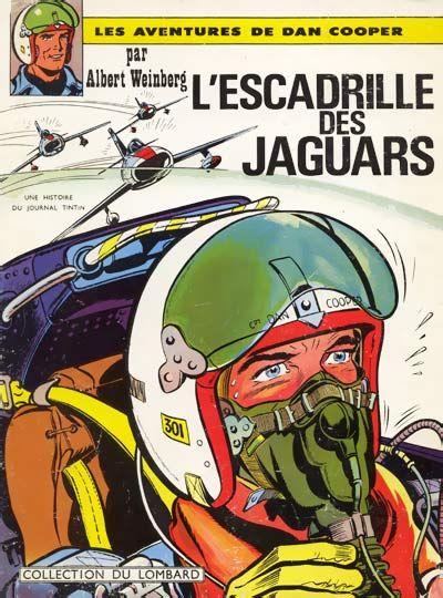Dan Cooper (Les aventures de) -7- L'escadrille des Jaguars  -  1964