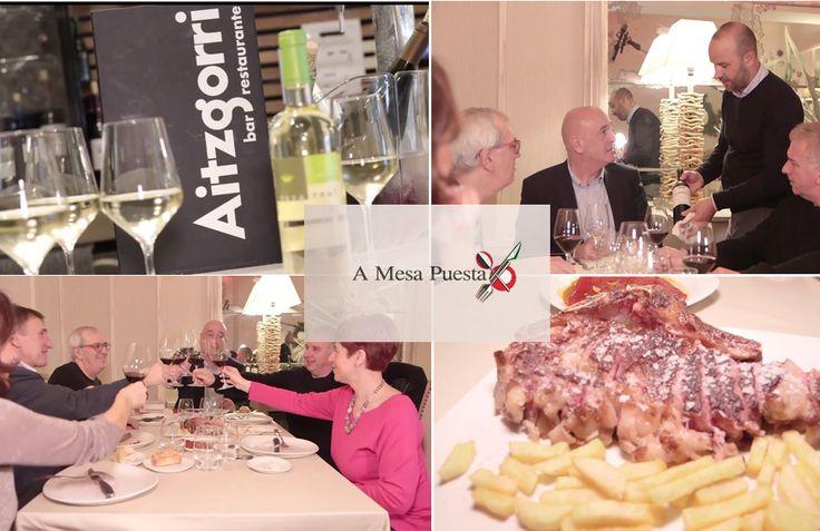 El Restaurante Aitzgorri de Donostia-San Sebastián ha sido el protagonista del programa A mesa puesta, de Teledonosti, y que presenta el crítico gastronómico Javier Yurrita. Los invitados al programa fueron Oscar Terol, Xabier Gutierrez y Lourdes Perez. #aitzgorri #donostia #sansebastian #usandizaga #yurrita #restaurantes #gros #pintxos #morcillaolano