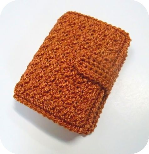 365 Crochet: Picture/Credit Card Wallet