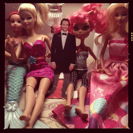 The ladies love him. For more #fakebradley photos, check out mylifewithbradleycooper.com