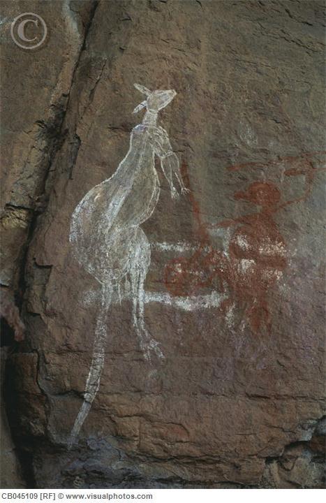 aboriginal rock paintings northern territory