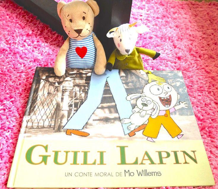 album de jeunesse Guili Lapin de Mo Willems