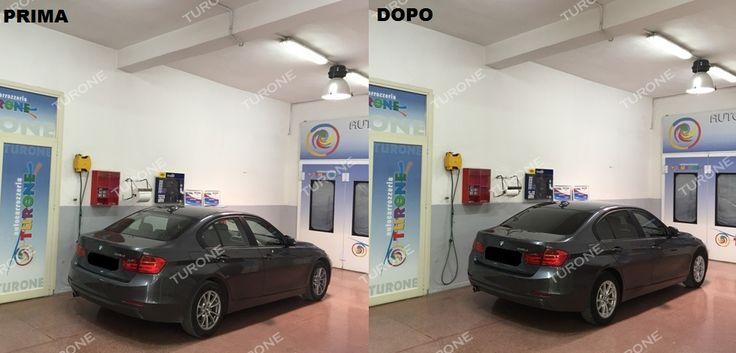 """OSCURAMENTO VETRI BMW SERIE 3: RISPECCHIA IL TUO STILE CON ELEGANTE SEMPLICITA'! Tonalità pellicole oscuranti applicate: media nei vetri posteriori e chiara negli anteriori. Scegli la pellicole più adatta alle tue esigenze utilizzando il """"simulatore oscuramento vetri"""" al seguente link:  http://www.turone.it/servizi/senza%20categoria/oscuramento-alternato/"""
