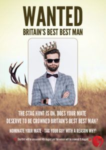 Britain's BEST Best Man | Wedding season is upon us! For any mate of a groom-to-be, the honour of being named best man can come with a lot of responsibilities. There's planning the stag do, choosing the fancy dress options, assisting with wedding plans, beer tasting for the reception (obviously), getting suited up, ensuring the groom 'makes it to the church on time', crisis management (dealing with cold feet/ the groom going AWOL) and of course writing THE speech.