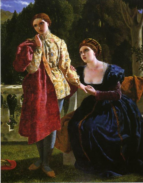 Viola and the Countess (1859) - Frederick Richard Pickersgill (from Shakespeare's Twelfth Night)
