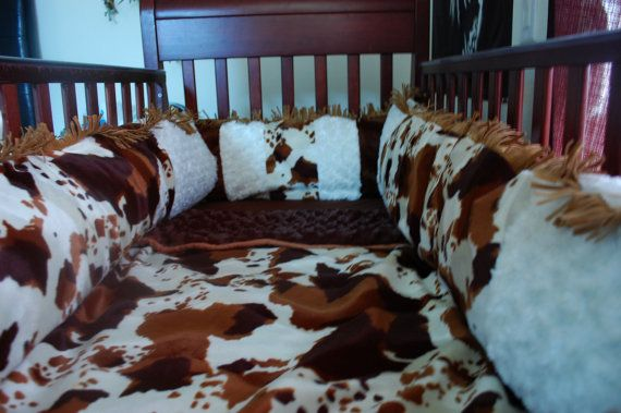 WeSTeRN RoCk STaR CoUNTrY BaBY BeDDiNG by ITBURNSBABY on Etsy, $260.00