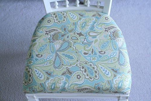 новая обивка стула