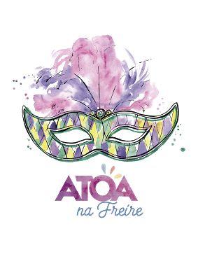 "♥ Bloco ""ATOA na Freire"" ♥ Carnaval 2017 ♥ SP ♥  http://paulabarrozo.blogspot.com.br/2016/12/bloco-atoa-na-freire-carnaval-2017-sp.html"