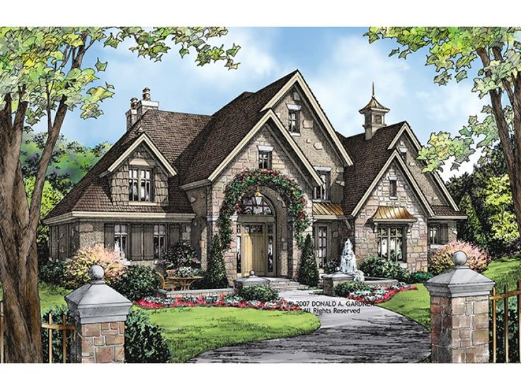 european house plan with 3484 square feet and 4 bedrooms from dream home source house