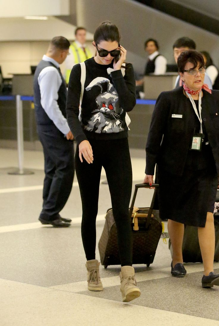 August 20 2014 At Lax Airport Kendall Nicole Jenner Fashion Style Kendall Jenner