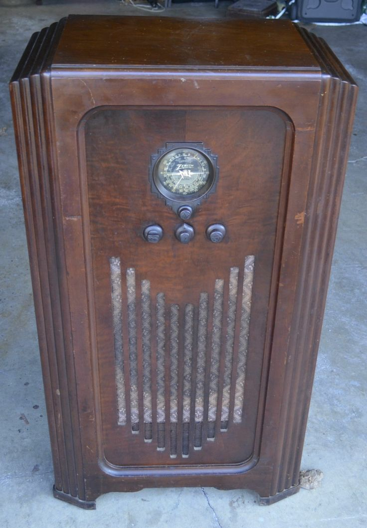158 Best Old Zenith Radios Images On Pinterest Antique