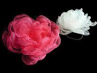 beautify room: Kwiaty we włosach