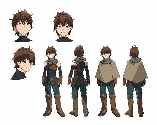 Grimgar of Fantasy and Ash Anime - Yoshimasa Hosoya (Attack on Titan's Reiner Braun) as Haruhiro