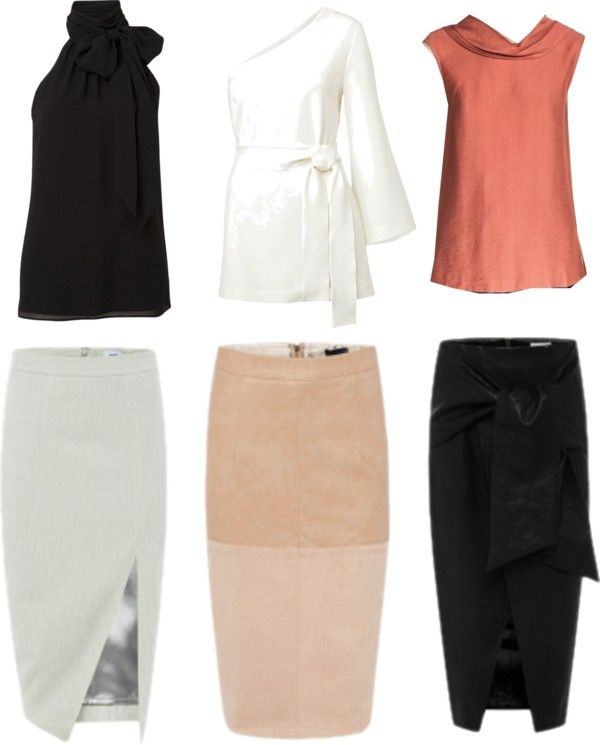 Jessica Pearson style from Suits. I love this tailored style for work, pencil skirts, dramatic necklines and classic colours!