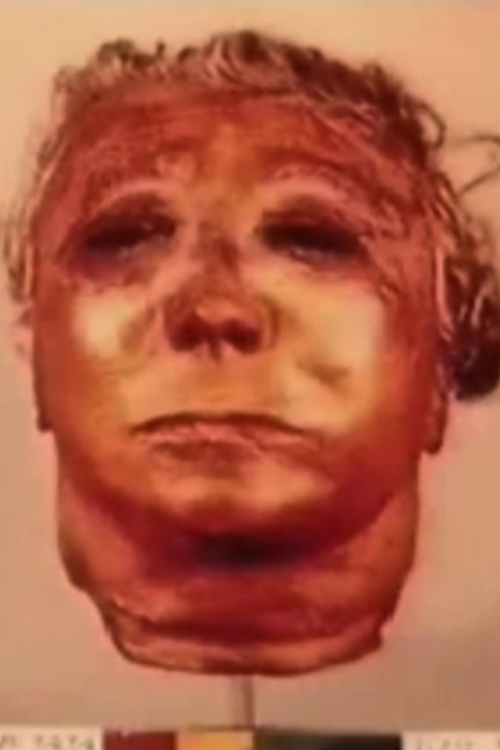 Ed Gein's Death Skin Mask. He was an American murderer and body snatcher.